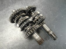 1987 87 SUZUKI DR125 DR 125 MOTORCYCLE ENGINE GEARS TRANNY TRANSMISSION