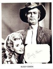 Buddy Ebsen Autograph Jed Clampett Beverly Hillbillies Tin Man The Wizard of Oz