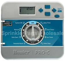 Hunter PC-400i Timer Faceplate Front Panel 821501 Indoor PC400i  Display Screen