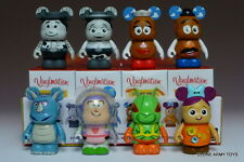 "COMPLETE SET VINYLMATION 3"" TOY STORY SERIES 2 TWITCH CHASER BUZZ LIGHTYEAR"