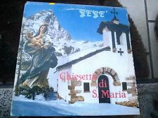 """LP 12"""" GEGE' CHIESETTA DI S. MARIA EDIZ. BAGUTTI BRANI ZUCCHERO CAROSONE EX/VG+"""