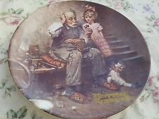 Norman Rockwell The Cobbler 2nd Plate in Rockwell Heritage Collection