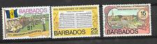 Barbados 1976 - 10th anniv of independence.  Parade, music, currency.  MNH