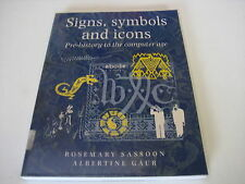 Signs, Symbols and Icons by Rosemary Sassoon ~O19