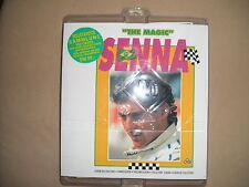"""AYRTON Senna """"The Magic"""" Set completo con album e 162 carte CONFEZIONE ORIGINALE!!!"""