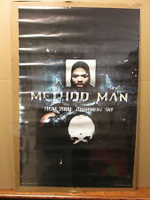 vintage WU-TANG Method Man judgement day  Poster original 1998 5400