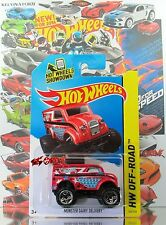 Hot Wheels 2014 #122 Monster Dairy Delivery™ RED,1stCOLOR,OR5SP,GREY BASE,INTL