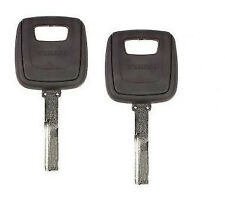 2X Original Two Track Replacement Key For Volvo S40 V40