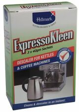 ExpressoKleen Coffee Machine and Kettle Descaler (FT068) 3x 40g Sachets
