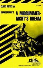Shakespeare's A Midsummer Night's Dream (Cliffs Notes), Matthew Black Ph.D., 082