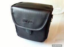 Original Nikon CS-P08 Ledertasche Tasche Hülle für Coolpix P500 / L120 Schwarz