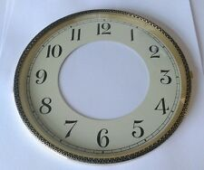 Brass Clock Bezel and Glass 172mm Arabic Dial