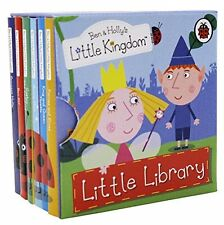 Ben and Holly's Little Kingdom Little Library Books Set Collection