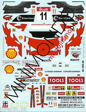 DECAL CITROEN C4 WRC SOLBERG MEXICO 2010 1/24 COLORADO 24125