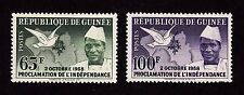 GUINEA Stamps Scott #173, 174 MNH - 1958 Proclamation of Independence