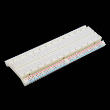 FC MB-102 Solderless Breadboard Protoboard 830 Tie Points 2 buses Test Circuit