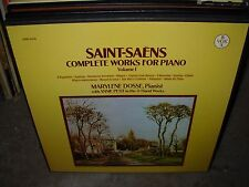 DOSSE / PETIT / SAINT SAENS works piano vol 1 ( classical ) 3lp box - vox 5476 -