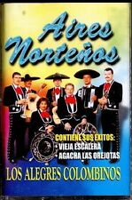 LOS ALEGRES COLOMBINOS - Aires Norteños - SPAIN CASSETTE Knife 1999 - Escalera