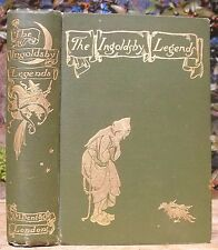 1898 ARTHUR RACKHAM The Ingoldsby Legends GHOSTS WITCHCRAFT OCCULT 1ST ED