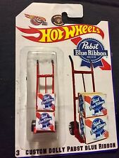 Hot Wheels 2017 Custom Hunt Collectors Dolly PABST BLUE RIBBON Lager Brew Beer