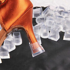 Pair Clear WEDDING HIGH HEEL SHOE PROTECTOR Stiletto COVER STOPPERS Size L