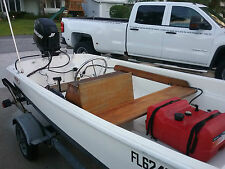 "13"" Boston Whaler with TRAILER"