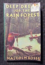 1993 DEEP DREAM OF THE RAIN FOREST by Malcolm Bosse Thorndike Paperback VG+