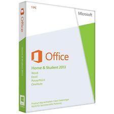 Microsoft Office Home and Student 2013 (Nur Lizenz) (1) - Vollversion für...