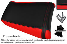 RED & BLACK CUSTOM FITS YAMAHA 1000 YZF 96-03 THUNDERACE REAR SEAT COVER