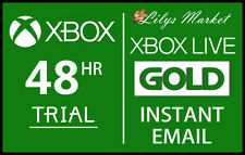 XBOX LIVE GOLD 48HR 2 DAY TRIAL INSTANT DISPATCH - 48 HOUR 2 DAYS 48 HOURS