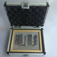 New nice professional  22 pcs progressive trial lens set with Aluminum case