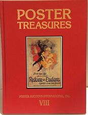 Poster Treasures Auction Catalog 1989 PAI-VIII Redoute Etudiants Cheret Rennert