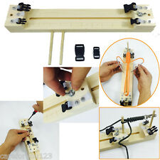 Jig Solid Wood Paracord Bracelet Maker Knitting Tool Knot Braided Parach DIY