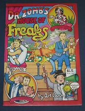 Dr. Zomb's House Of Freaks Underground Comix 1st Printing