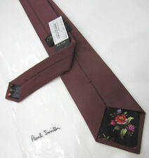 Paul Smith DUSKY PINK TIE THE BRITISH COLLECTION Classic 9cm Tie Made in England