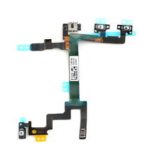 Power Volume Button Switch Connector Flex Cable Replacement Part for iPhone 5 LO