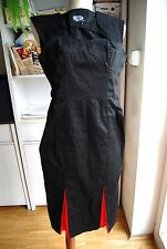 nwot Hearts & Roses H&R black red vampire goth pencil bodycone dress 10 12