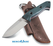 BENCHMADE 162 SIBERT BUSHCRAFT S30V BLADE STEEL FIXED BLADE KNIFE WITH SHEATH