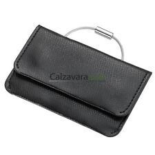 Porta Carte di Credito Troika + Portachiavi Excellente - Nero