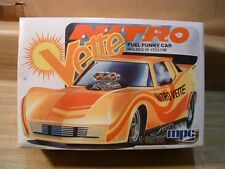 NITRO VETTE FUEL FUNNY CAR CORVETTE ~1980  MPC  #1-0701 ~1/25~ FACTORY SEALED