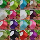 "25 Yards 2"" 50 mm satin ribbon craft/party/wedding DIY Lots Color U pick"