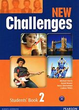 Pearson NEW CHALLENGES 2 Students' Book LEVEL A2 @BRAND NEW@ 2012