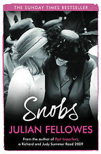 Snobs, By Julian Fellowes,in Used but Acceptable condition