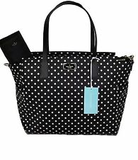 NWT Kate Spade Blake Avenue Taden Baby Diaper Bag Tote WKRU3524 Diamond Dot