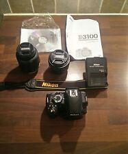 Nikon D d3100 14.2mp Fotocamera Reflex Digitale - (18-55mm e 50mm Lens)