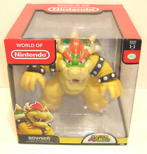 World of Nintendo BOWSER Action Figure SEALED Jakks Pacific 6 Inch Deluxe 1-1