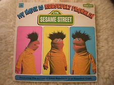 MY NAME IS ROOSEVELT FRANKLIN lp SESAME STREET CTW-22067 CANADA