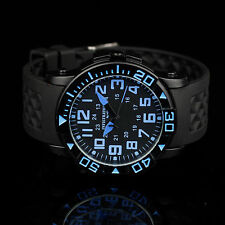 INFANTRY Mens Quartz Army Wrist Watch Military Analog Sport Police Style Rubber