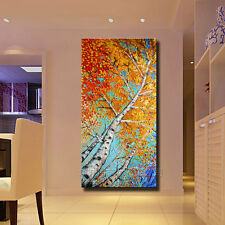 Hot Modern Abstract Huge Wall Decor Oil Painting On Art Canvas,Maple (No Frame)