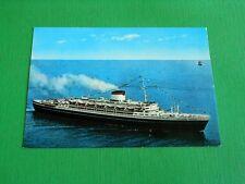 Cartolina Navigazione - Turbonave Cristoforo Colombo 1965 ca